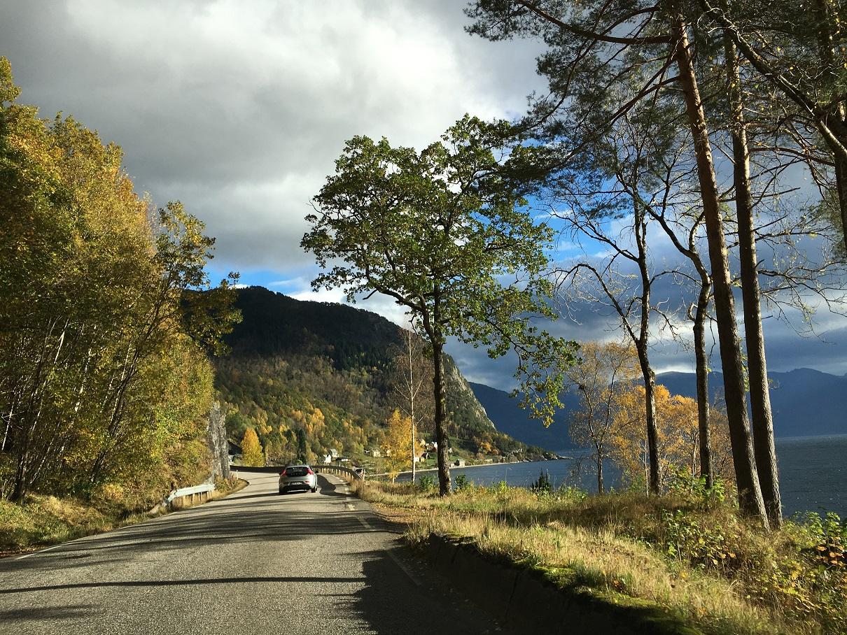 Hardanger fjord norvégia