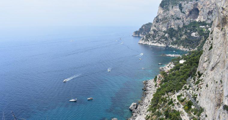 Capri – megközelítés, közlekedés a szigeten