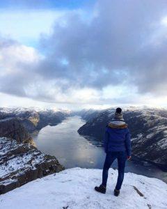 Norvégia télen