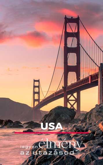 Élményválasztó Egyéni Utazó USA Amerika
