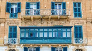 Máltai erkélyek - Málta utazás egyénileg