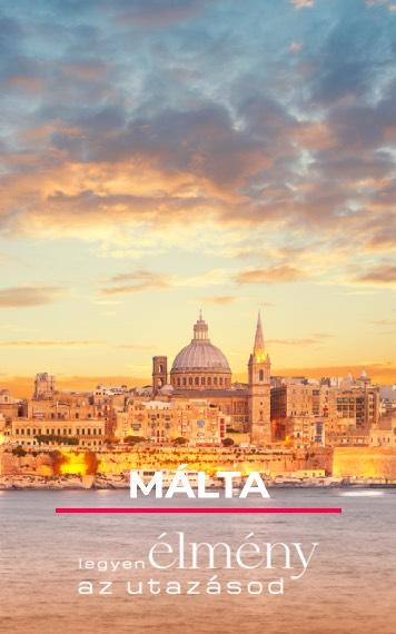 Málta utazás egyénileg