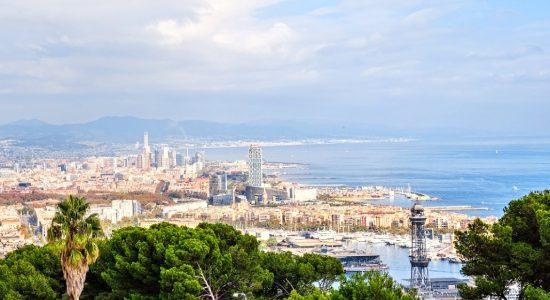 egyeni-utazo-barcelona-spanyolorszag-montjuic-kilatas