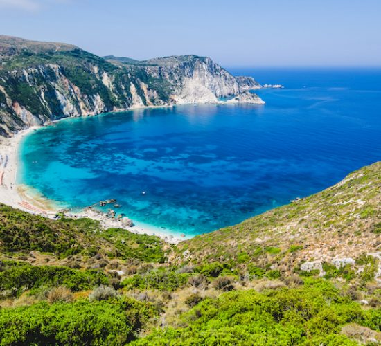 Görög szigetek Kefalonia, Myrtos beach