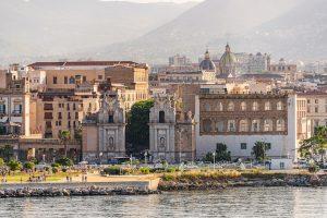 Cityscape of Palermo