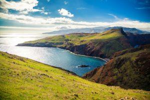 beautiful landscape at Ponta do Sao Lourenco, Madeira, Portugal